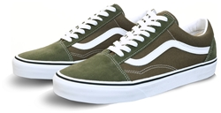Vans Grape Leaf/True White Old Skool Shoes