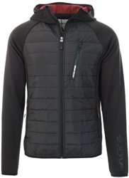 Jack & Jones Black / Black Hybrid Quilted Jacket