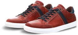 Lloyd & Pryce Rust Speck Daly Lace Up Leather Trainer