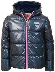 Levi's® Teenager Junior Shinny Puffer