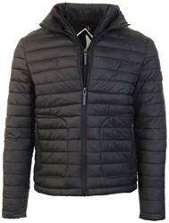 Superdry Black Fuji Double Zip Jacket