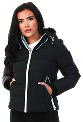 Superdry Black Spirit Puffer Icon Jacket