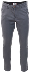 Grey / Asphalt Slim Fit Chinos by Jack & Jones