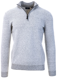 Superdry Shale Feeder Orange Label Henley Jumper
