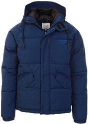 Jack & Jones Navy Blazer Rain Visor Puffer Jacket