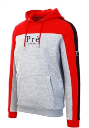 Pre London Grey/Samba Red Altura Zip Hoody