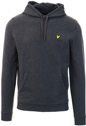 Lyle & Scott Charcoal Pull Over Hoodie