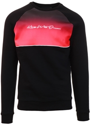 Kings Will Dream Black / Red Crew Neck Sweater