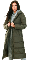 Only Kalamata Long Quilted Jacket