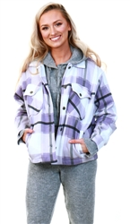 Vivichi Lilac Collette Shacket