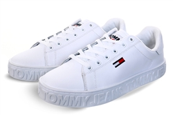 Tommy Jeans White Cool Cupsole Sneakers