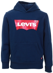 Levi's® Dress Blue Batwing Screenprint Hoodie
