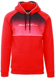Kings Will Dream Red / Black Keppock Hoody