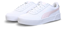 Puma White/Rosewater Carina Leather Women's Trainers