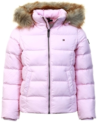 Tommy Jeans Romantic Pink Junior Basic Down Jacket