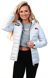 Ellesse Light Grey Lompard Padded Jacket
