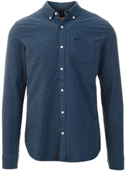 Superdry Navy Marl University Oxford Shirt