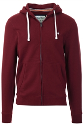 Jack Wills Damson Pinebrook Zip Hoodie