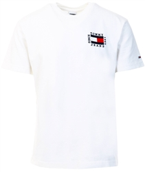 Tommy Jeans White Box Flag T-Shirt