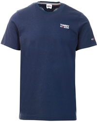 Twilight Navy Corporate Logo T-Shirt by Tommy Jeans