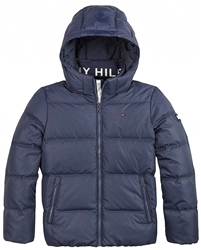 Tommy Jeans Twilight Navy Junior Essential Down Jacket