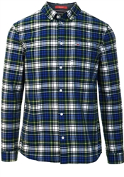 Tommy Jeans Providence Blue/Multi Oxford Check Shirt