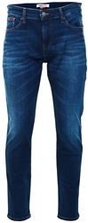 Tommy Jeans Aspen Dark Blue Stretch Ryan Relaxed Striaght Leg Jeans