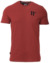 11degrees Brick Red Core T-Shirt