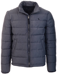 Jack Wills Charcoal Kershaw Lightweight Puffer Jacket