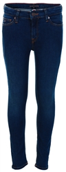 Tommy Jeans Dark Cobalt Blue Junior Simon Skinny Faded Jeans