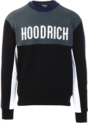 Hoodrich Black/Blue Og Roadz Crew Sweatshirt