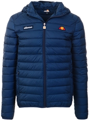 Ellesse Navy Lombardy Padded Jacket Navy