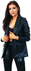 Veromoda Black / Black Coated Blazer