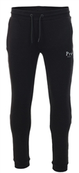 Black Essential Fleece Jogger by Pre London