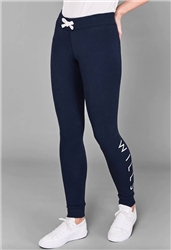 Jack Wills Navy Lingham Skinny Jogging Bottoms