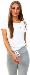 White Fullford T-Shirt by Jack Wills