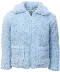 Ruby Tuesday Pale Blue Junior Heavenley Shaggy Fleece