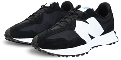 New Balance Black With Munsell White 327 Trainer