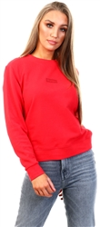 Wrangler Lollipop Red High Rib Regular Sweater