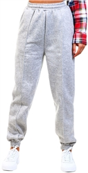 Cutie London Grey Marl Cuffed Joggers