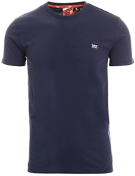 Superdry Box Navy Organic Cotton Collective T-Shirt