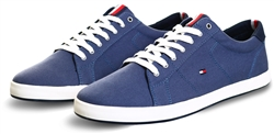 Tommy Jeans Faded Indigo Iconic Contrast Panel Trainers