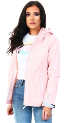 Superdry Peach Whip Essentials Harpa Waterproof Jacket