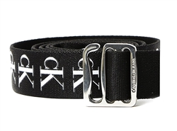 Calvin Klein Black Slider Tape Belt