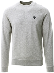 Barbour Beacon Grey Marl Crew Sweatshirt