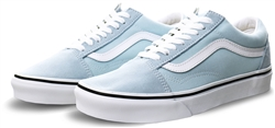 Vans Baby Blue/True White Old Skool Shoes