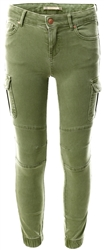 Only Green / Oil Green Junior Cargo Trousers