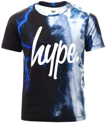 Hype Blue Stormy Sky Kids T-Shirt
