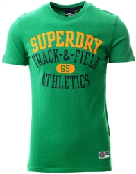 Superdry Oregon Green Track & Field Graphic T-Shirt