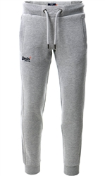 Superdry Grey Marl Orange Label Classic Joggers